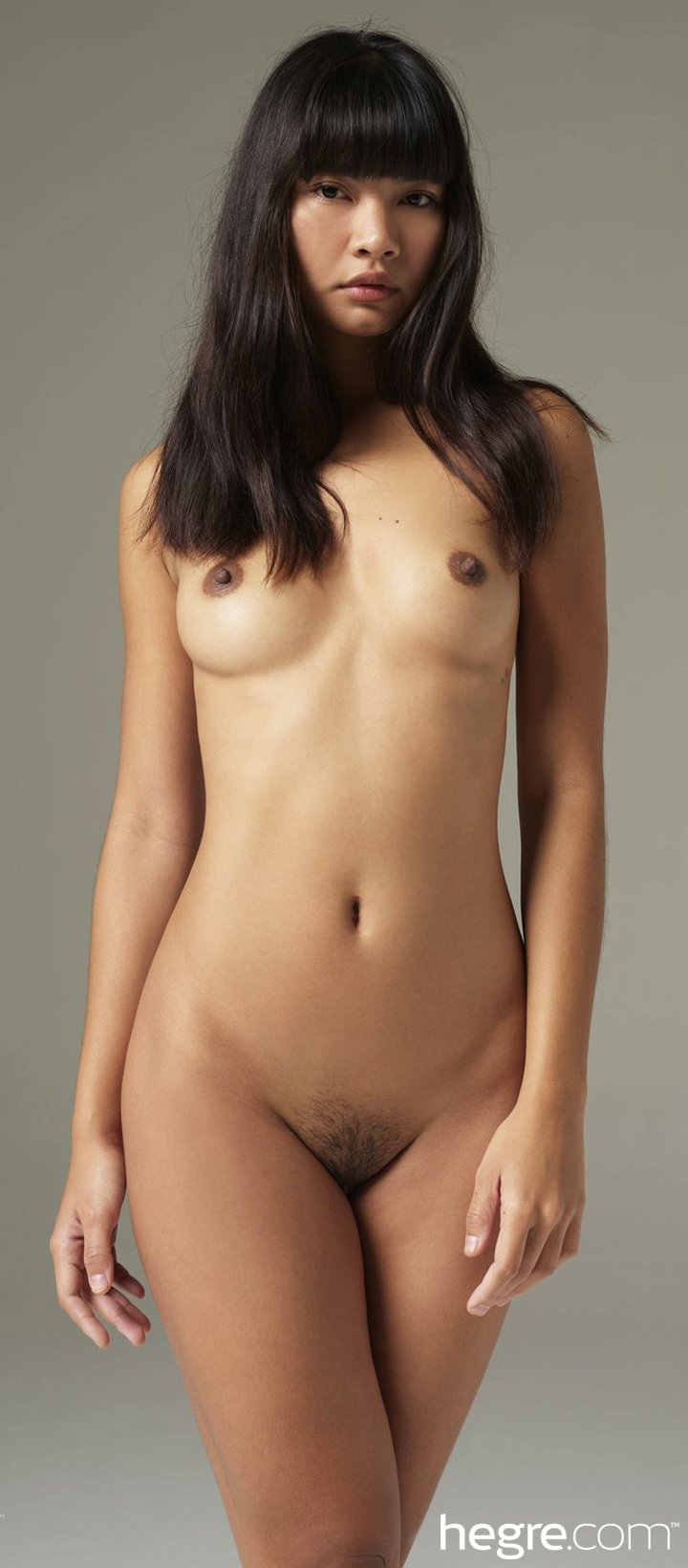 Thai beauty Cara Pin posing naked