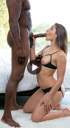 Big Booty Girl Abella Danger Worships Big Black Cock