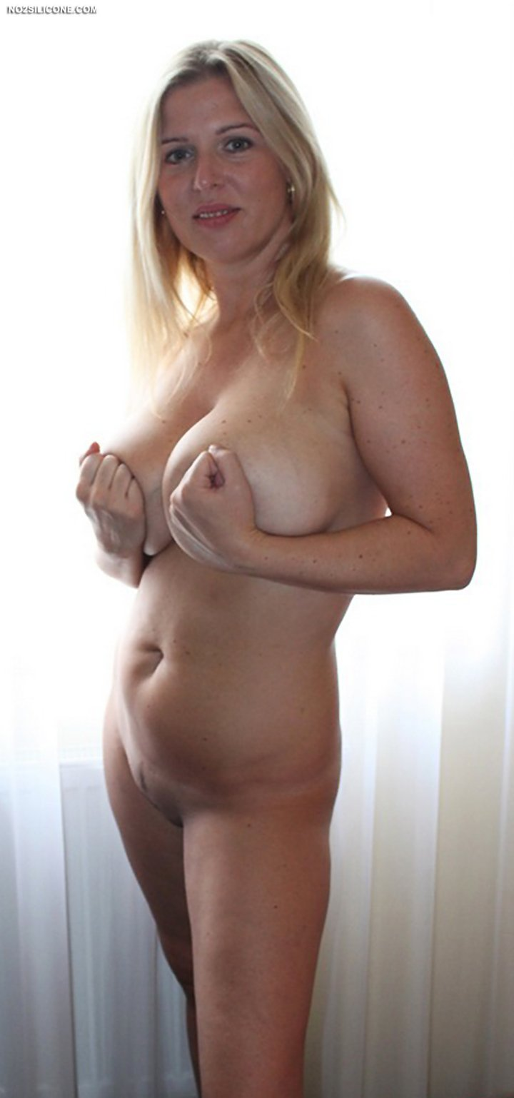 Absolute stunning amateur blonde Britney with huge boobs