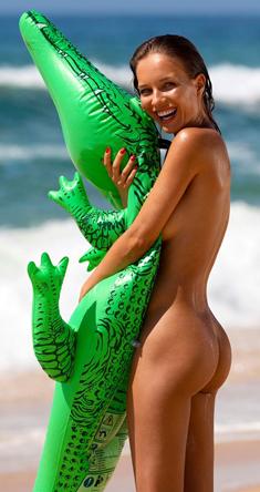 Natalia Andreeva in Playboy Italy
